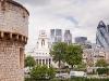 Tower of London - widok na City