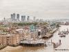 Widok z Tower Bridge