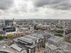 Widok  na Londyn z katedry św Pawła