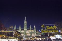2013.12.14 Wiedeń - jarmarki świąteczne