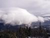 Chmura falowa za pasmem Babiej