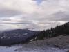 Przełęcz Brona - widok na Mosorny Groń