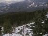 Zejście z przełęczy Brona