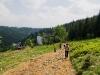 W drodze na Baranią Górę - wyjście ze schroniska