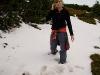 Pierwszy śnieg Aśki :)