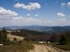 Dzień 2 - Panorama z Rycerzowej na Romankę,  Pilsko i Babią.