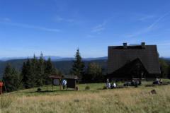 Rycerka - przełęcz Przegibek - Wielka Rycerzowa 16 IX 2007