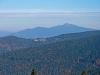 Widok z Hali Rysianka na Babią Górę