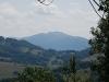 Tarnica z Przełęczy nad Berehami Górnymi
