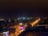 Wieczorna Warszawa z hotelu Novotel (Forum)