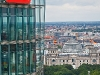 Widok z Kohlhof Tower na Berlin - Reichstag