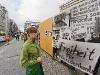 Friedrichstrasse - miejsce gdzie był mur berliński