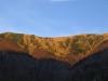 Południowy Grun oświetlony pięknym zachodzącym słońcem