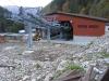 Dolna stacja kolejki gondolowej - jeszcze cisza :) za 2 mce ruch bedzie jak w ulu...