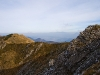 Widok z Chleba - w tle Tatry i Wielki Chocz