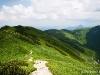 W drodze na Mały Krywań - widok na Bublen
