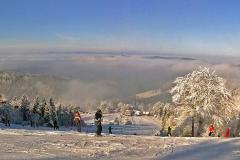 Wielka Racza - narty - 16 I 2010