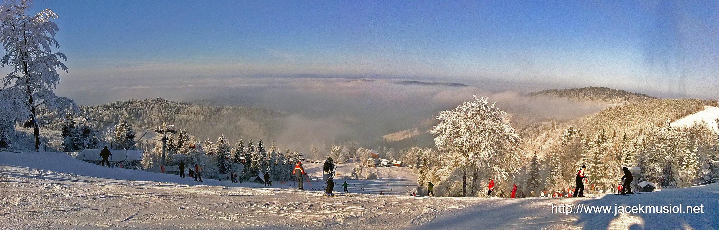 Panorama z Wielkiej Raczy - Dedovka