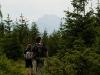 W drodze na Drapacz - widać szczyt Wielkiego Rozsutca