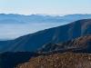 Widok na Kotlinę Liptowsą w tle Niżne Tatry
