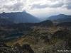 10 IX - Dolina 5 stawów - Grań Hrubego w tle w churach Krywań
