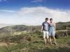 W górach Nebrodi - my