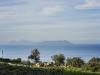 Tindari - widok na wyspy Eolskie