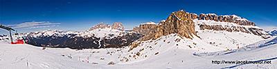 17. Passo Pordoi - Val di Fassa