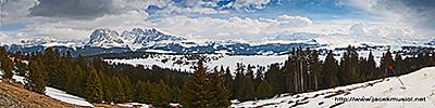 5. Alpe di Siusi - widok z Monte Piz
