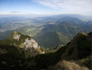 Góry Choczańskie i Tatry
