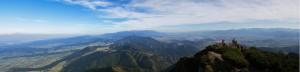 Panorama z Wielkiego Chocza na wschód