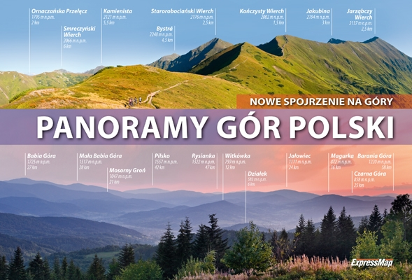 Panoramy gór Polski